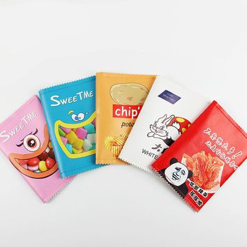 1PC Cute Snack Candy Pencil Bag Large Capacity School Supplies Novelty Item for Kids Multifunctional