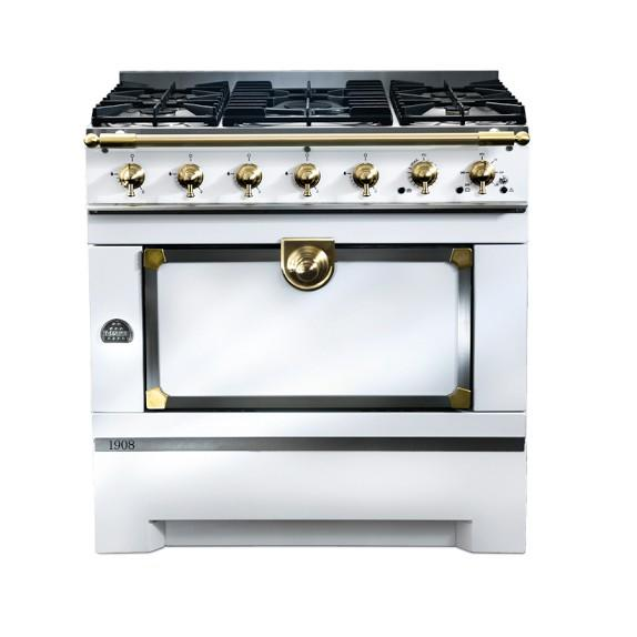 la cornue cornuf 1908 stove white from williams sonoma. Black Bedroom Furniture Sets. Home Design Ideas