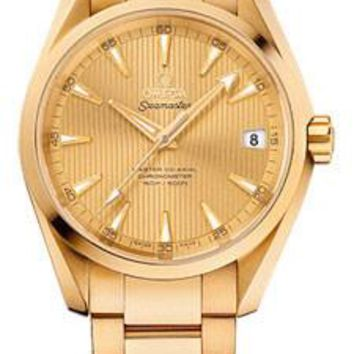 Omega - Seamaster Aqua Terra 150 M Master Co-Axial 38.5 mm - Yellow Gold