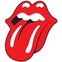 Rolling Stones Tongue Vynil Car Sticker Decal - 2.5""