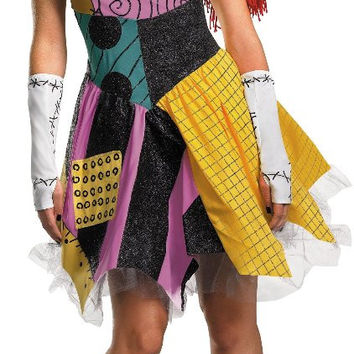 the nightmare before christmas sexy sally adult costume - large (12-14)