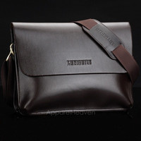 Men's Genuine Leather Handbag Messenger Shoulder Briefcase Laptop Bag Purse AP = 1645853636