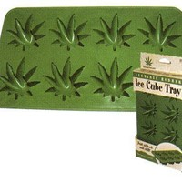 ROCKWORLDEAST - Stonerware, Ice Cube Tray, Frozen Sweet Leaf