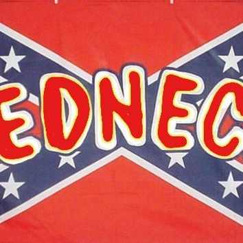 Lot of Redneck On Confederate Flags