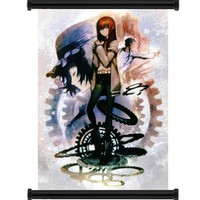 "Steins; Gate Anime Game Fabric Wall Scroll Poster (16"" x 22"") Inches"