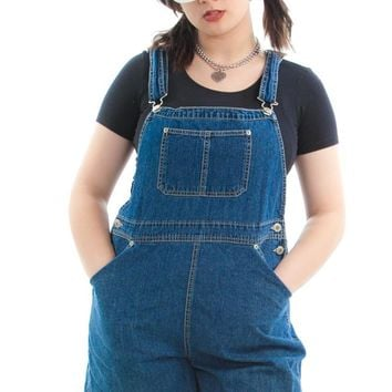 Vintage 90's Easy Street Shortalls - One Size Fits Many