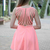 IN THE MOMENT DRESS , DRESSES, TOPS, BOTTOMS, JACKETS & JUMPERS, ACCESSORIES, 50% OFF END OF YEAR SALE, PRE ORDER, NEW ARRIVALS, PLAYSUIT, COLOUR, GIFT VOUCHER,,Pink,SLEEVELESS Australia, Queensland, Brisbane