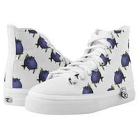 """""""Charlene"""" Fish With Attitude by Mike Quinn Printed Shoes"""