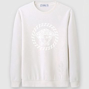 Boys & Men Versace Casual Edgy Long Sleeve Sweater