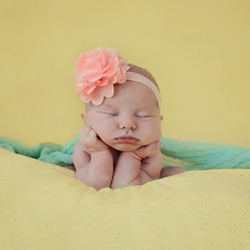 Newborn Backdrop Newborn Fabric Backdrop Posing Beanbag Fabric Newborn Photography Fabric Yellow Eyelet Flower Fabric Photo Prop 1.25 yds