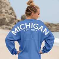 Michigan Est. 1837 - Classic Spirit Jersey®