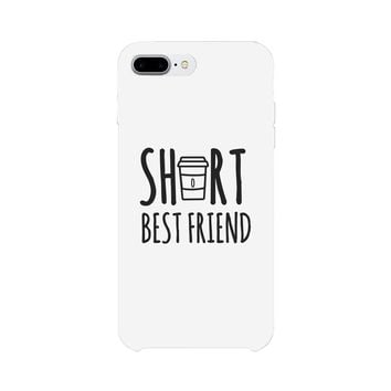 Tall Cup and Short Cup Best Friend Matching Phone Cases BFF