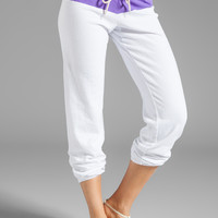 Monrow Vintage Sweats in Neon Violet from REVOLVEclothing.com