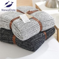 120*180cm Knitted Blankets Spring Sofa Cover Bed Cover Throw Soft Bed Handmade Crochet Anti-Pilling Portable Blanket for Autum