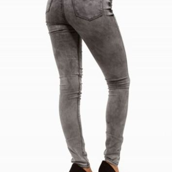 BLUE SPICE JEGGING GREY HIGH WAIST JEANS