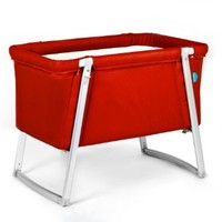 Baby Home Dream Portable Baby Bassinet - Red