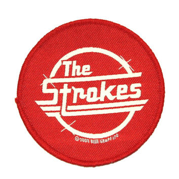 """Rock Band Logo """"The Strokes"""" Concert Jacket Apparel Music Sew On Applique Patch"""