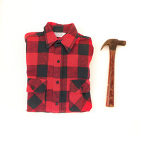 Buffalo Plaid Flannel Shirt Lumberjack Plaid Shirt