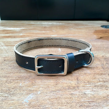 Horween Leather Premium Dog Collar