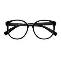 Womens Retro Vintage Style Clear Lens Oval Round Glasses Frames R2430