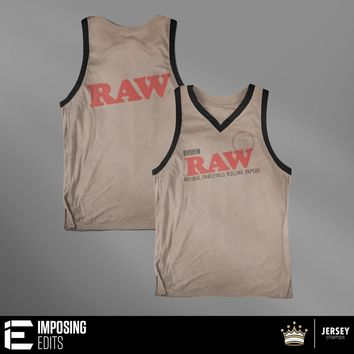 Raw Papers Jay Basketball Jersey