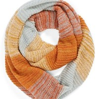 David & Young Stripe Infinity Scarf (Juniors)