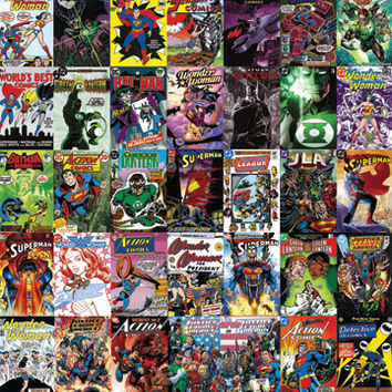 DC Comics Covers Poster