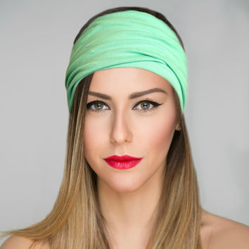 Mint Yoga Headband {Love & Light Collection}