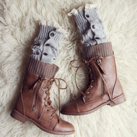 Winter Lace Boot Socks