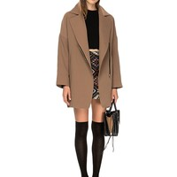 Alexis Brown Zipper Coat
