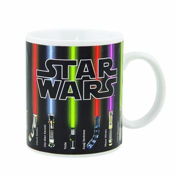 Star Wars Lightsaber Heat Reveal Mug
