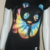 NEW WWF WORLD WILDLIFE FUND PANDA TIE DYE SHIRT TOP JAPAN KAWAII XL XLARGE