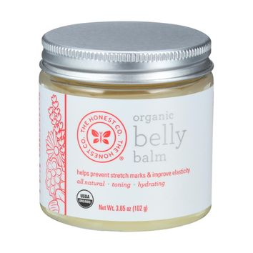 The Honest Company Organic Belly Balm - Unscented - 3.65 oz