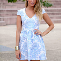 GOLD FOIL 2.0 DRESS , DRESSES, TOPS, BOTTOMS, JACKETS & JUMPERS, ACCESSORIES, SALE, PRE ORDER, NEW ARRIVALS, PLAYSUIT, COLOUR, GIFT VOUCHER,,Blue,Print Australia, Queensland, Brisbane