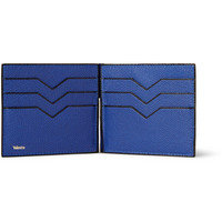 Valextra - Pebbled-Leather Cardholder | MR PORTER