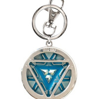 Marvel Iron Man Arc Reactor Key Chain