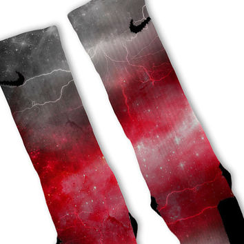 Red Storm Customized Nike Elite Socks!!