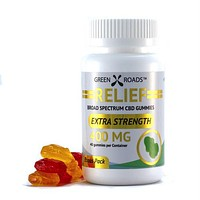 Green Roads CBD Relief Gummies 400mg