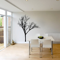Wall Decal Bare Tree 2 Vinyl Wall Decal 22221