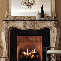 """""""French Fireplace"""" Mantel  - Horchow"""