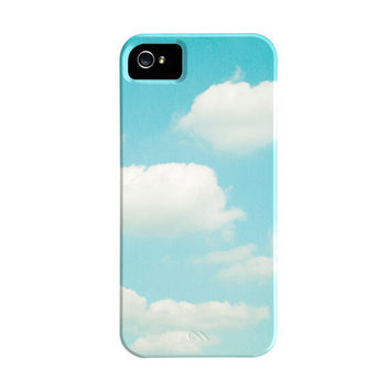 Cloud iPhone Case 5 4s 4  sky iphone 4 case by CarolynCochrane