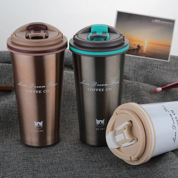 Thermos Mug Coffee Cup with Lid