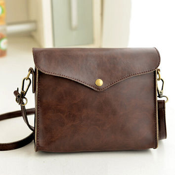 Retro small leather bag gift 06