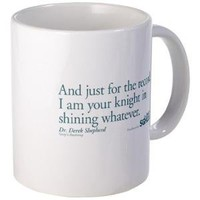 For the Record... - Grey's Anatomy Mug - CafePress Australia