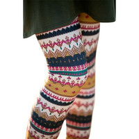 Print Winter Pants Leggings [9658862927]