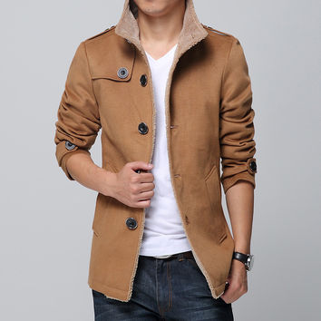 Thicken Coat Korean Men Jacket [6528874307]