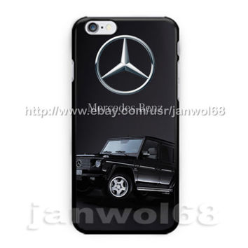 Mercedes Benz Jeep Logo For all iPhone Print On Hard Plastic Case