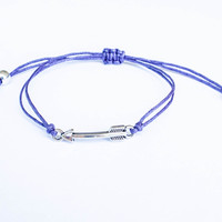 Arrow Bracelet made with Cotton Cord