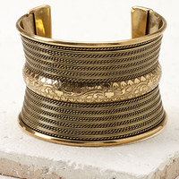 Etched Statement Cuff