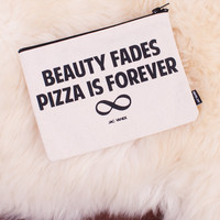 Pizza Is Forever Pouch - Jac Vanek